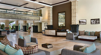 Lobby at Waipouli Beach Resort Kauai by Outrigger