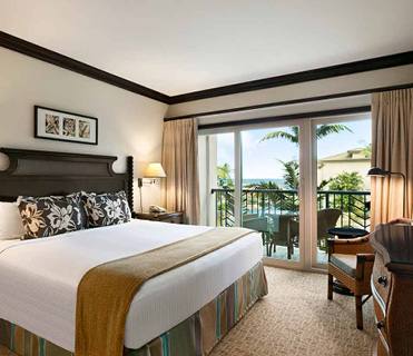 1 Bedroom Ocean View at Waipouli Beach Resort Kauai by Outrigger