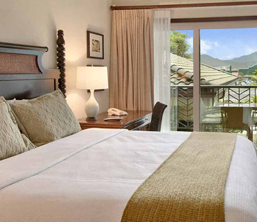 1 Bedroom Partial Mountain View at Waipouli Beach Resort Kauai by Outrigger