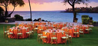 Bay View Grounds | Outrigger Kona Resort and Spa