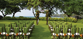 Bayside Lawn | Outrigger Kona Resort and Spa