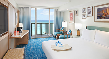 Club Oceanfront - Outrigger Reef Waikiki Beach Resort