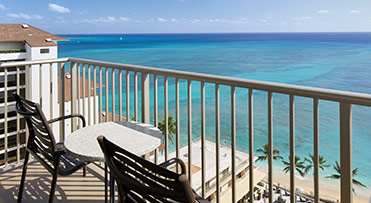 Club Ocean View Suite - Outrigger Reef Waikiki Beach Resort