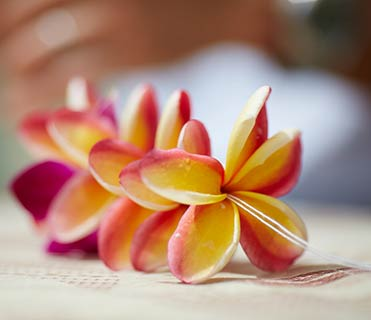 Lei making - Outrigger Hotels & Resorts
