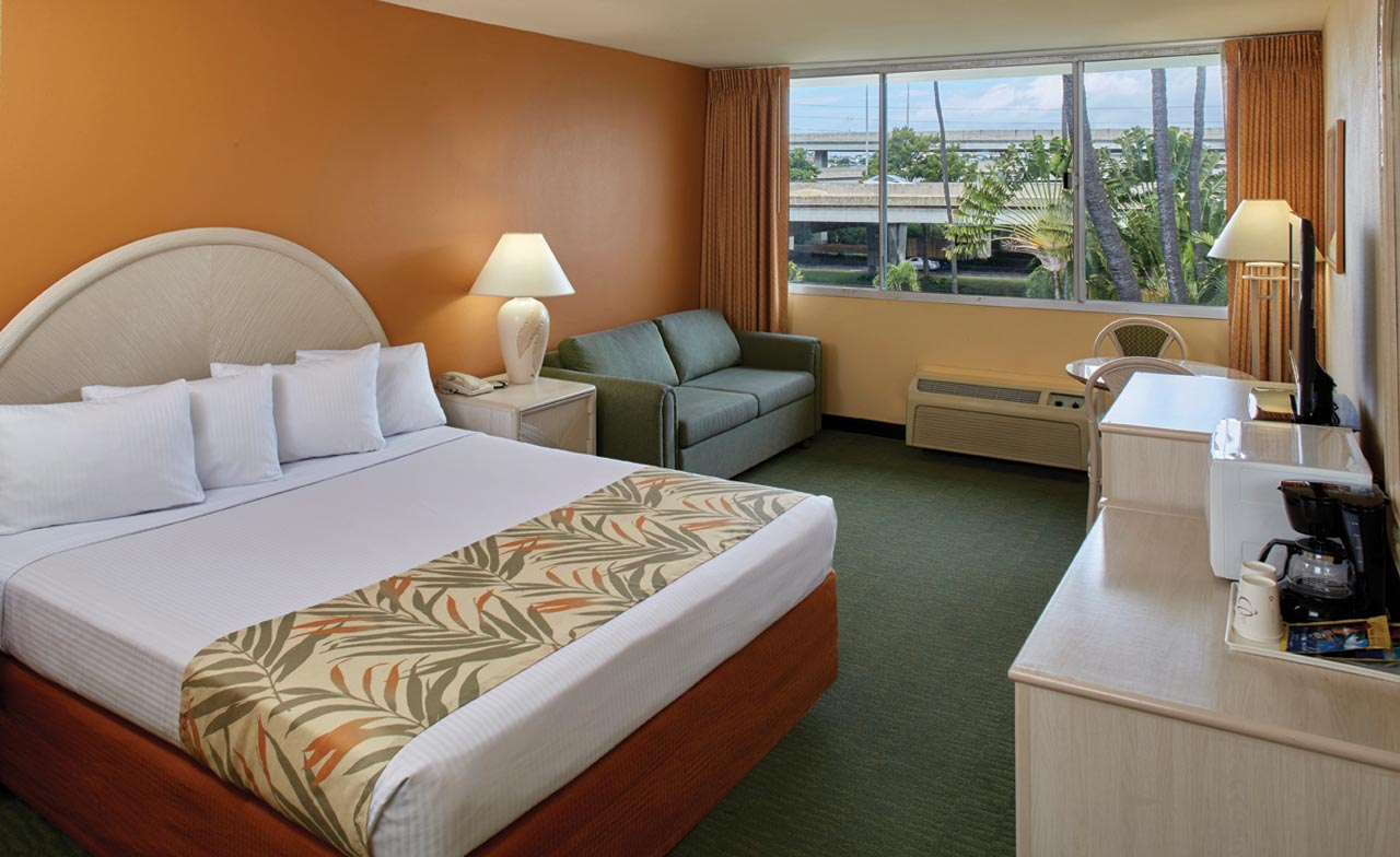 Superior Room With 1 King Bed Airport Honolulu Hotel